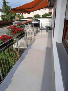 Terrassensanierung in Bobstadt